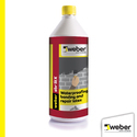 Weber Sbr Latex Waterproofing Bonding And Repair, Packaging Type: Can