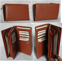 Female Party Leather Ladies Wallet / Purse