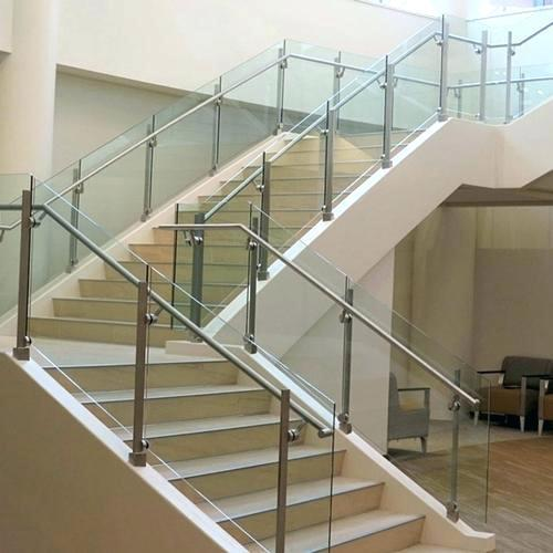 304 Grade Stainless Steel Glass Railing