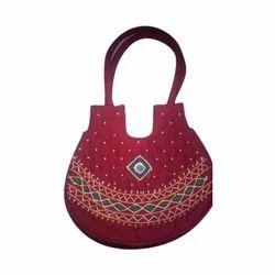 Ramas Banjara Embroidered Handled Handicraft Bag