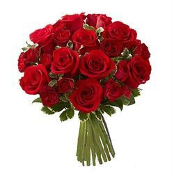 Red Bunch Bouquet
