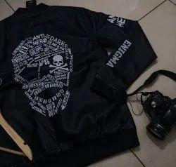 Black Leather Jackets, Size: S To Xxl