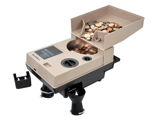 Beige Coin Counting Machine