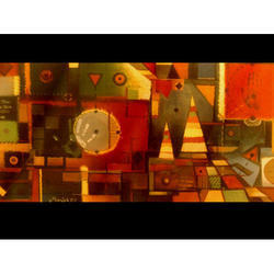 Designer Abstract Painting