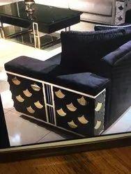 Metal Sofa Leg Cum Sofa Handle, Gold Finish, Luxury, Stainless Steel 304