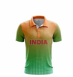 Fan Jersey Bleed Green-Orange- White