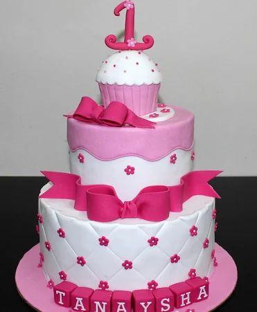 Awesome Cake Decorations Fondant Cake Ideas For 1St Birthday Funny Birthday Cards Online Inifofree Goldxyz