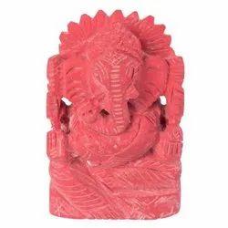 Coral Ganesh (Moonga)
