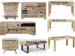 Carved Rustic Furniture
