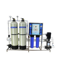 500 LPH FRP Industrial Reverse Osmosis SKID Mounted