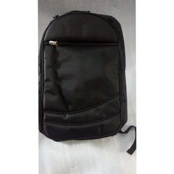 Black Office Laptop Backpack