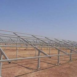 Solar Panel Mounting Structure In Ghaziabad सोलर पैनल