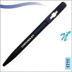 Plastic Black Matt Twist Pen