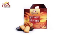 Mr. Uncle Sweet Gur Atta Biscuits, Packaging Type: Box