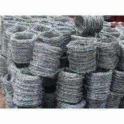 Galvanized Iron GI Barbed Wire, For Fencing