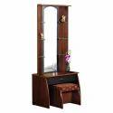 Wooden Rectangular Dressing Table, Height: 6.5 Feet
