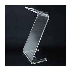 Z Shape Acrylic Podium