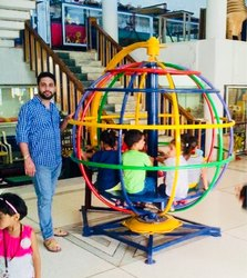 kids Revolving globe with sitting portable model