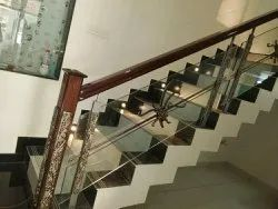 Steel Railings Glass Antique Disigns