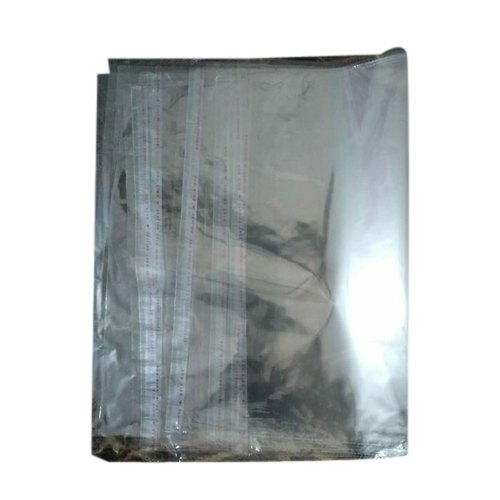 Transparent Stationery BOPP Courier Bag, Bag Size: 12x15 Inches, for Packaging