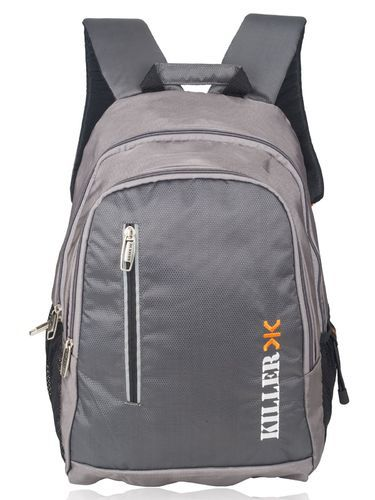 39f36f81a667 Polyester Grey Gamma College Backpack Bag