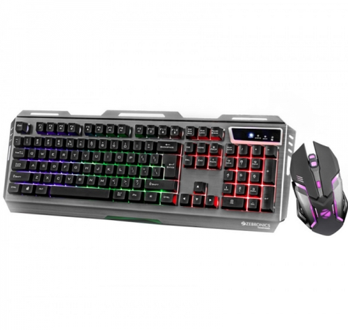 a9a34aac4c5 Zebronics Premium Gaming keyboard & Mouse Combo TRANSFORMER ...