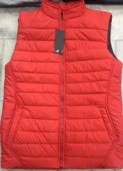 Sleeveless Winter Wear Mens Half Sleeve Jacket