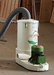 Model DCS 1 400 Valgro DuKlean Portable Dust Collector system  and other accessory