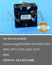 Fan OEM PN : FK2-8276-000 For use in models:  Canon image RUNNER ADVANCE 6055, 6065, 6075, 6255