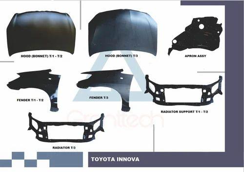 Car Body Parts >> Car Body Parts Toyota Innova Body Parts Hood Fender Radiator