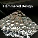 Stainless Steel Hammered Designer Sheets