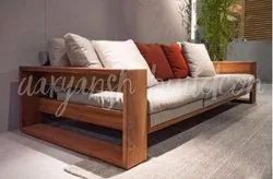 Modern Teak Sofa Set, For Home, Size: Traditional