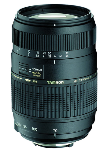 Tamron Af 70 300mm F/4 0 5 6 Di Ld Macro Telephoto Zoom Lens