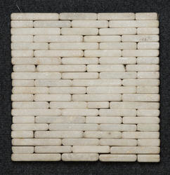 White Pebbles Fountain Mosaic, Thickness: 25 mm