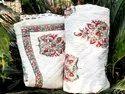 Block Printed Handmade Quilt Cotton Blanket Throw