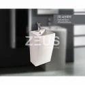 Zoro White 6690bw Pedestal Washbasin