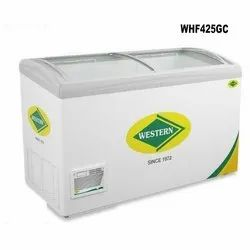 Curved Glass Top Freezer (WHF425GCL)