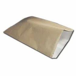 Paper, Hdpe Brown Paper Laminated HDPE Bags, Storage Capacity: 2 Kg