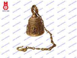 Temple Bell W/5 Style Ganesh Design
