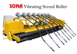 Vibrating Screed Roller