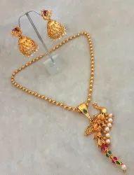 JewelEMarket Gold Necklace Set