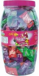 Mix Heart Candy, Packaging Type: Jar, Pouch