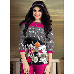 Ladies Colorful Flower Tops