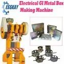 GI Metal Box Making Machine