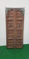 Antique Carved Front Door