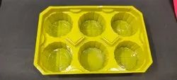 Muffin cake Tray 6 Pcs Packaging