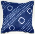 Indigo Kantha Shibori Cushion Cover