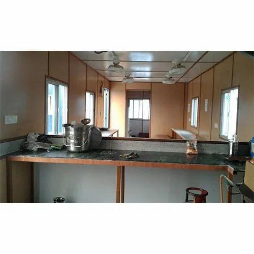Ms Portable Kitchen Cabin Rs 20000 Piece Apex Portable Cabin Id 4366145062