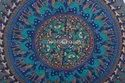 Decorative Mandala Round Floor Cushion Cover Hippie Large Mandala Floor Pouf Pillow Cover