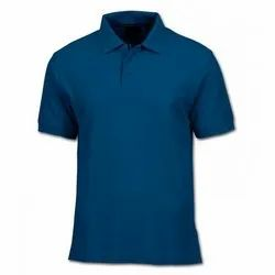 Plain Half Sleeves Polo Sports T Shirt, Packaging Type: Poly Pack